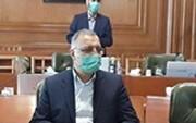 حضور زاکانی در جلسه شورای شهر تهران / عکس