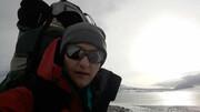 سقوط مرگبار مهری جعفری کوهنورد ایرانی در پوبدا