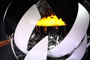لحظه خاموش شدن مشعل المپیک توکیو ۲۰۲۰ / فیلم