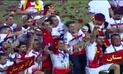 جشن قهرمانی فولاد خوزستان در جام حذفی / فیلم