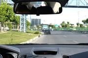 صحنه نفسگیر تعقیب و گریز پلیس راهور با راننده پژو 206 در خیابانهای تهران / فیلم