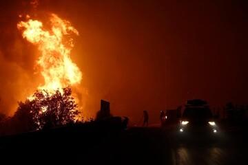 آتشسوزی مرگبار در جنگلهای الجزایر با ۴۲ کشته