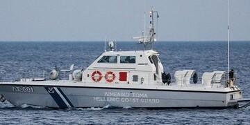 غرق شدن یک کشتی انگلیسی در سواحل یونان