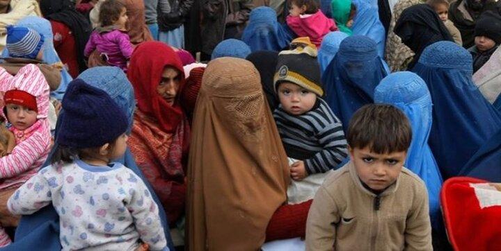 فرار دردناک مردم افغانستان از کشورشان / فیلم