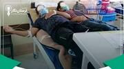 ویدیویی هولناک از قمهکشی همراهان بیمار بر سر تخت خالی در بیمارستان!