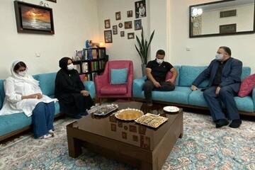 حضور مدیرعامل فارابی در منزل علی سلیمانی / قول مساعد برای چاپ کتاب این هنرمند