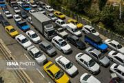 تصاویری عجیب از جاده چالوس پس از اعلام منع تردد