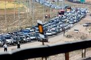 آخرین وضعیت محورهای شمالی کشور / ترافیک سنگین در محورهای چالوس، هراز و فیروزکوه