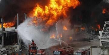 ویدیو هولناک از لحظه وقوع انفجار وحشتناک در تاسیسات نظامی قزاقستان