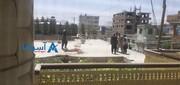 ویدیویی هولناک از سقوط مرگبار شهروند افغانستانی  از هواپیما بر پشت بام خانه