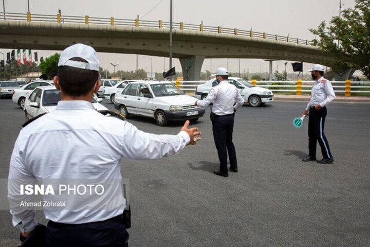 ۲۳ هزار خودرو از خراسان شمالی برگشت داده شدند