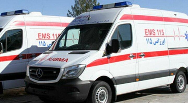 مصدومیت ۸ نفر در اثر تصادف سه خودرو در مشهد