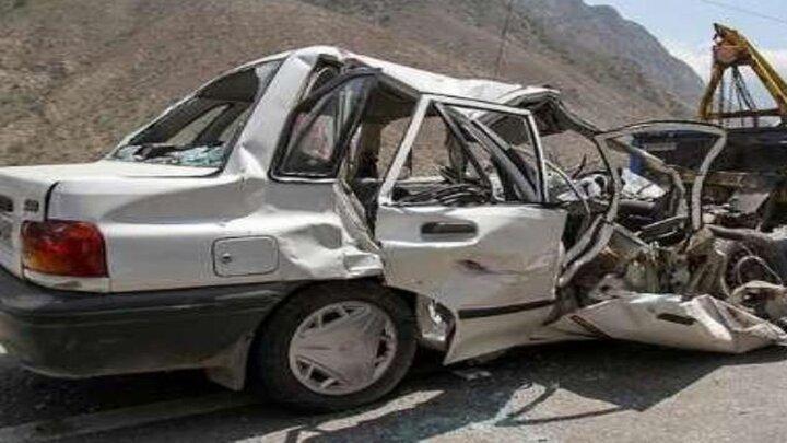 تصادف مرگبار در جاده آباده به صغاد