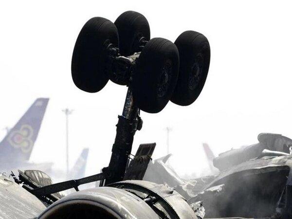 هواپیمای نظامی افغانستان در ازبکستان سقوط کرد