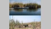 مقایسه هورالعظیم در سال ۹۸ و ۱۴۰۰ / تصاویر