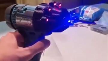 روشن کردن آتش با استفاده از لیزر / فیلم