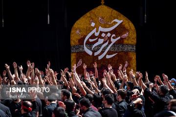 گزارش تصویری از مراسم عزاداری روز عاشورا در آستان امامزاده صالح (ع)
