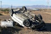 یک کشته و ۴ زخمی در پی واژگونی خودرو در خراسان جنوبی