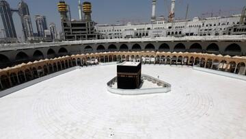 تصاویری از ورود کاروان حجاج خارجی به عربستان بعد از دو سال