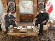 وزیر خارجه ژاپن با شمخانی دیدار کرد