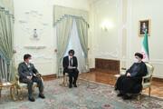 دیدار وزیر امور خارجه ژاپن با رییسجمهور