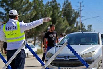 آمار جریمه خودروها در تعطیلات ۶ روزه اعلام شد