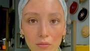 حجاب عجیب فرشته حسینی در کنار نوید محمد زاده  / عکس