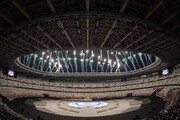 تصاویری جالب از لحظه رژه کاروان ایران در پارالمپیک ۲۰۲۰ توکیو / فیلم