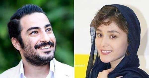 پوشش عجیب همسر نوید محمدزاده سوژه شد! / عکس