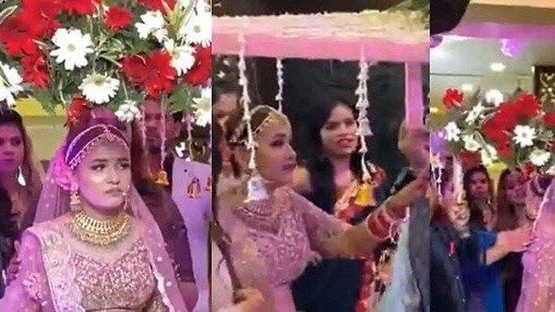 اقدام عجیب و جنجالی عروس به خاطر پخش نشدن آهنگ مورد علاقه همه را شوکه کرد! / فیلم