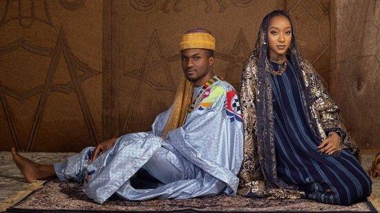عروسی پر زرق و برق پسر رئیسجمهور نیجریه