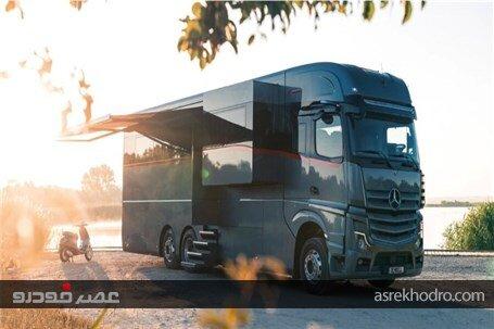 لوکسترین اتوبوس تولید شده در جهان / عکس