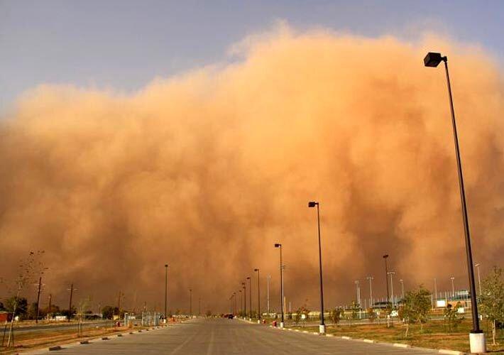 گزارش آب و هوا ۳ شهریور ۱۴۰۰ / هشدار درباره وقوع طوفان شن در ۷ استان