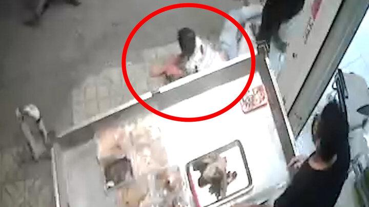 ویدیو فجیع از لحظه اقدام به قتل جوان تهرانی توسط پسر افغان