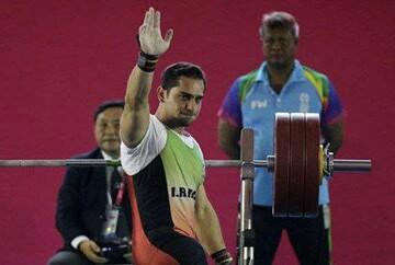 اولین مدال کاروان ایران در پارالمپیک ۲۰۲۰؛ امیر جعفری در وزنه برداری نقره گرفت