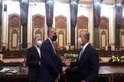 دیدار امیرعبداللهیان با وزیر خارجه ترکیه در بغداد