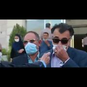 اشتباه عجیب و خندهدار کاندیدای شورای شهر شیراز هنگام مصاحبه / فیلم