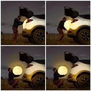 چهار تصویر دیدنی از لحظه دزدیدن ماه / عکس