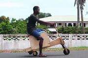 اختراع موتور خورشیدی توسط دانشآموز نابغه غنایی / فیلم