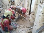 ریزش ساختمان قدیمی در تهران قربانی گرفت