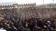 فیلمی وحشتناک از روزهای سیاه کرونایی در خوزستان / تیراندازی در مراسم چندهزار نفری