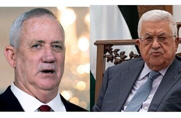 محمود عباس با بنی گانتس دیدار کرد