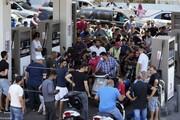 درگیری وحشتناک لبنانیها بر سر نازل بنزین / فیلم