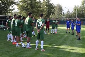 برگزاری تمرین امروز تیم ملی در ورزشگاه آزادی