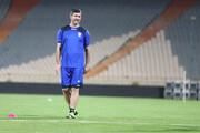 کریم باقری به تمرین تیم ملی رفت / عکس