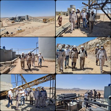 پیشرفت فیزیکی ۹۰ درصدی احداث کارخانه  کارخانه و معدن طلای هیرد