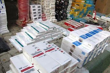 قاچاق سیگار ۶۱ درصد کاهش یافت