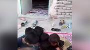 فیلمی تلخ و تکان دهنده از مصرف مواد مخدر توسط پسر بچه ها