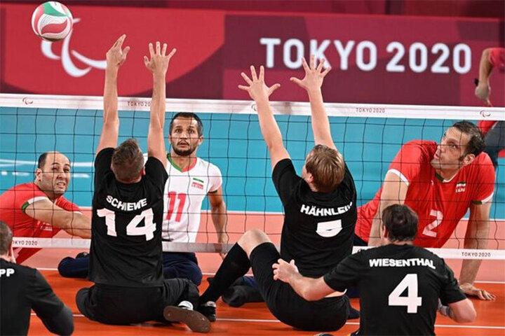 تیم ملی والیبال نشسته ایران طلایی شدند