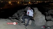 لحظه دستگیری مواد فروشان غارنشین در تهران / فیلم